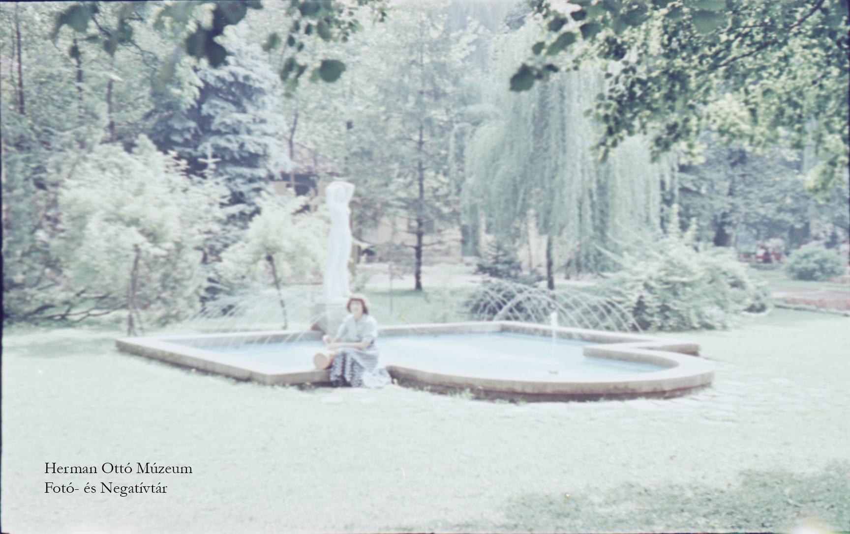 Herman Ottó Múzeum Fotó- és Negatívtára. Tapolcai részlet. Bodgál Ferenc, 1958. szeptember. Leltári szám: HOM_FN_5588