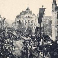 Rákóczi hamvainak hazahozatala Miskolc és Borsod vármegye érintésével