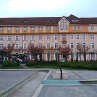A Postapalota épülete