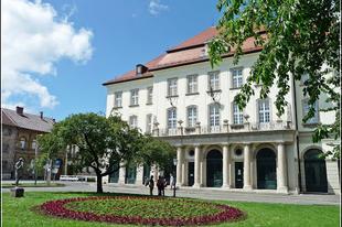 A Zenepalota épülete