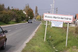 A vasút és a Martintelep