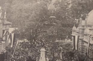 Az első Kossuth-szobor Magyarországon