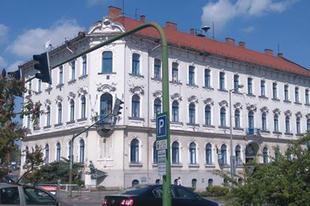 A MÁV miskolci igazgatóságának épülete
