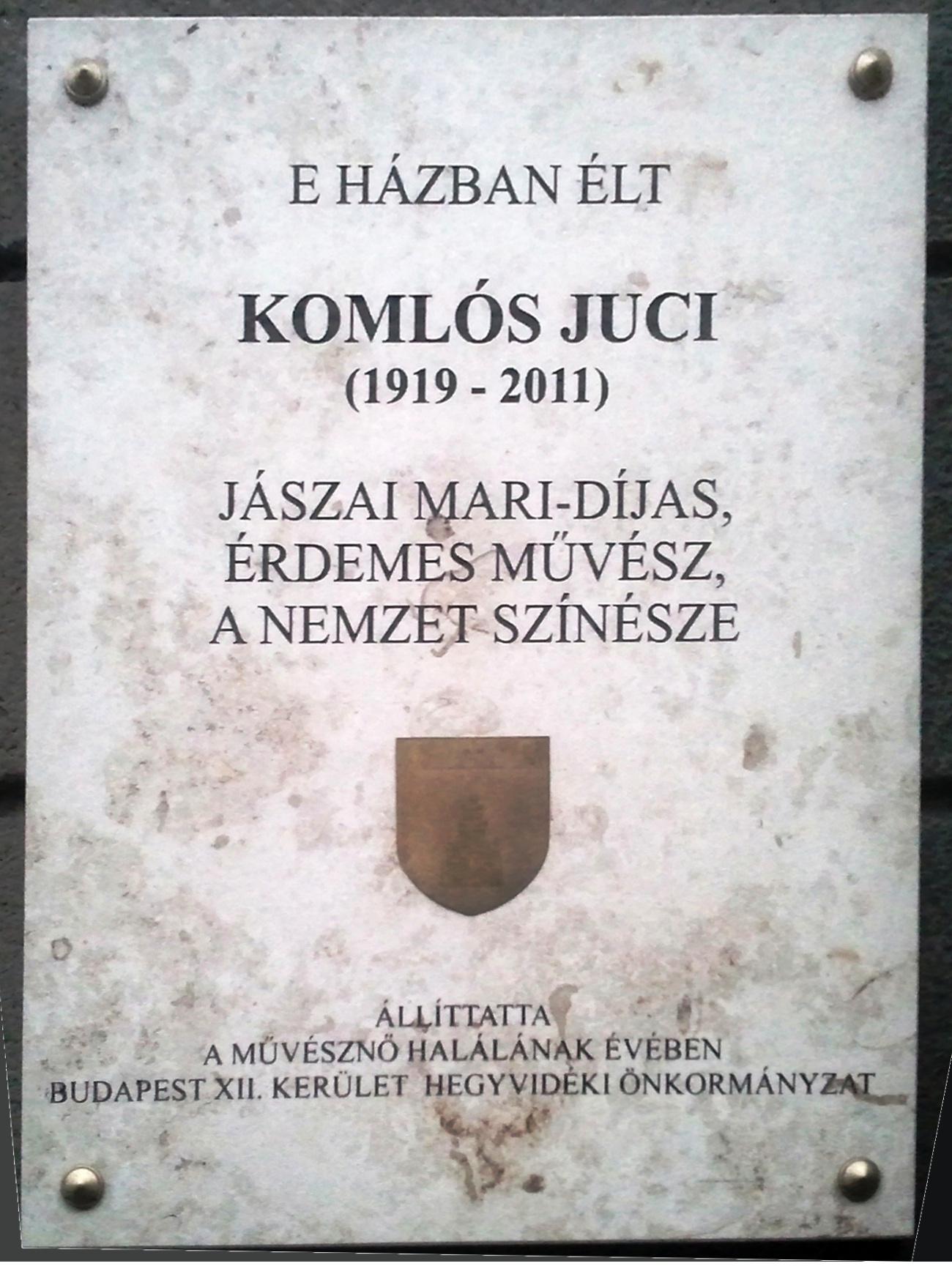 komlos_juci_emlektablaja_varosmajos_utca_49.jpg