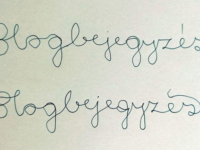 Kalligráfia, nem csak grafománoknak