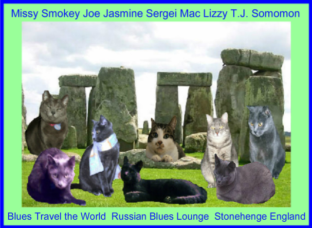 In Stonehenge with the Blues