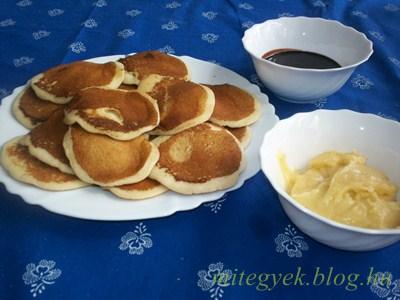 Amerikai palacsinta (tejmentes, tejfehérje mentes, laktózmentes, szójamentes)