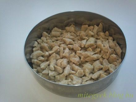 Galuska (tejmentes, tejfehérje mentes, laktózmentes, szójamentes, gluténmentes)