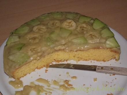 Gyümölcstorta  (tejmentes, tejfehérje mentes, laktózmentes, szójamentes)