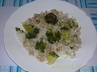 Rakott brokkoli (tejmentes, tejfehérje mentes, szójamentes, gluténmentes, tojásmentes, laktózmentes)