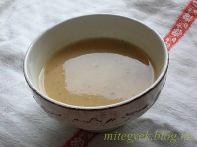 Zeller krémleves (tejmentes, tejfehérje mentes, tojásmentes, gluténmentes, laktózmentes, szójamentes)