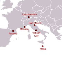 Kicsik, de ismertek - Európa legkisebb országai