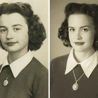 Unokák, akik reprodukálták nagyszüleik régi képeit - elképesztő a hasonlóság