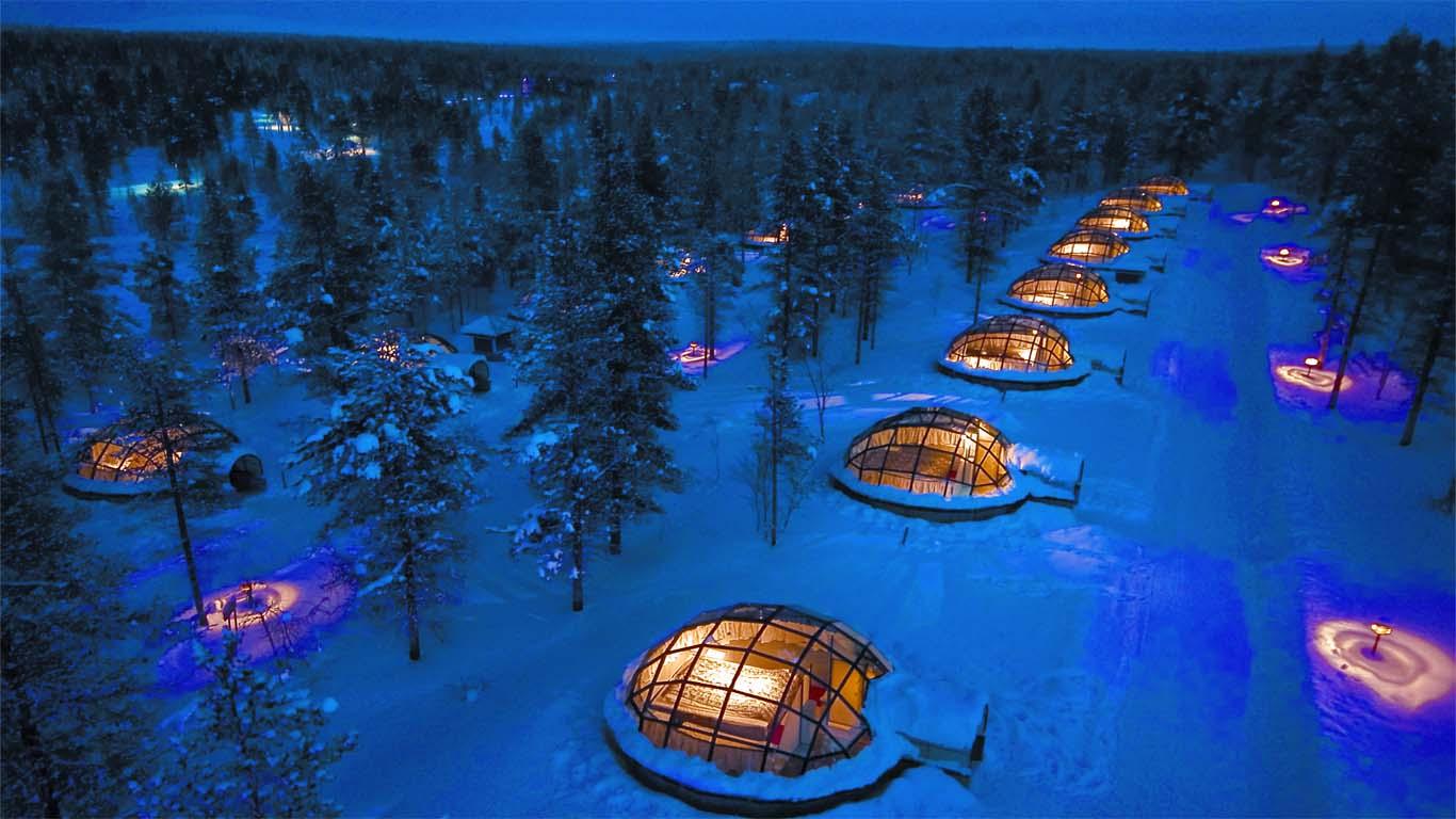 A világ legextrémebb szállodái