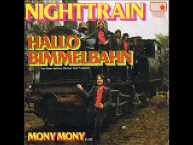 sample: nighttrain - hallo bimmelbahn / duck sauce - barbra streisand