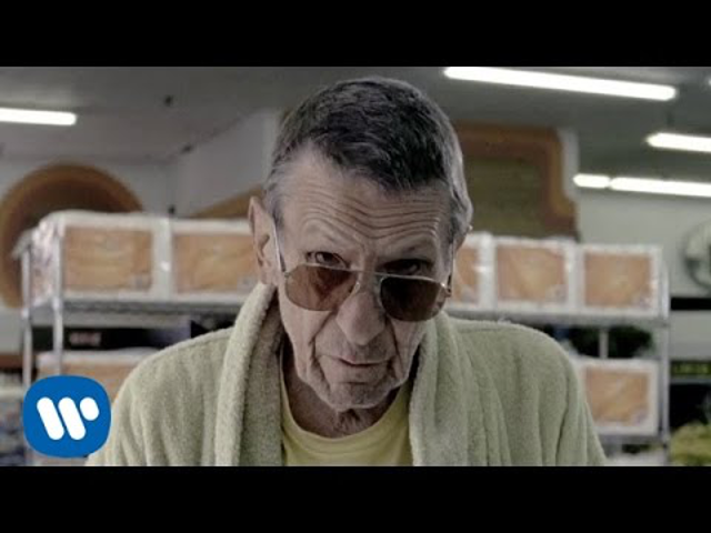 bruno mars - lazy song (feat. leonard nimoy*)