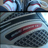 Mizuno Wave Rider 13 nyugdíj előtt