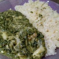 Spenótos-sajtos szűzérme