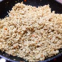 Ázsiai csirkés rizs