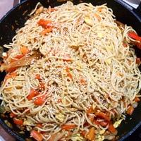 Ázsiai sült tészta