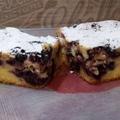 Áfonyás-túrós sütemény