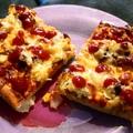 Házi SonGoKu pizza