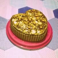 Karamellás-tejcsokoládés torta