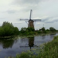 Hollandia - Kinderdijk malomrendszer