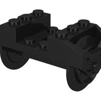 Gördülékeny haladás - csapágyazott LEGO-kerekek