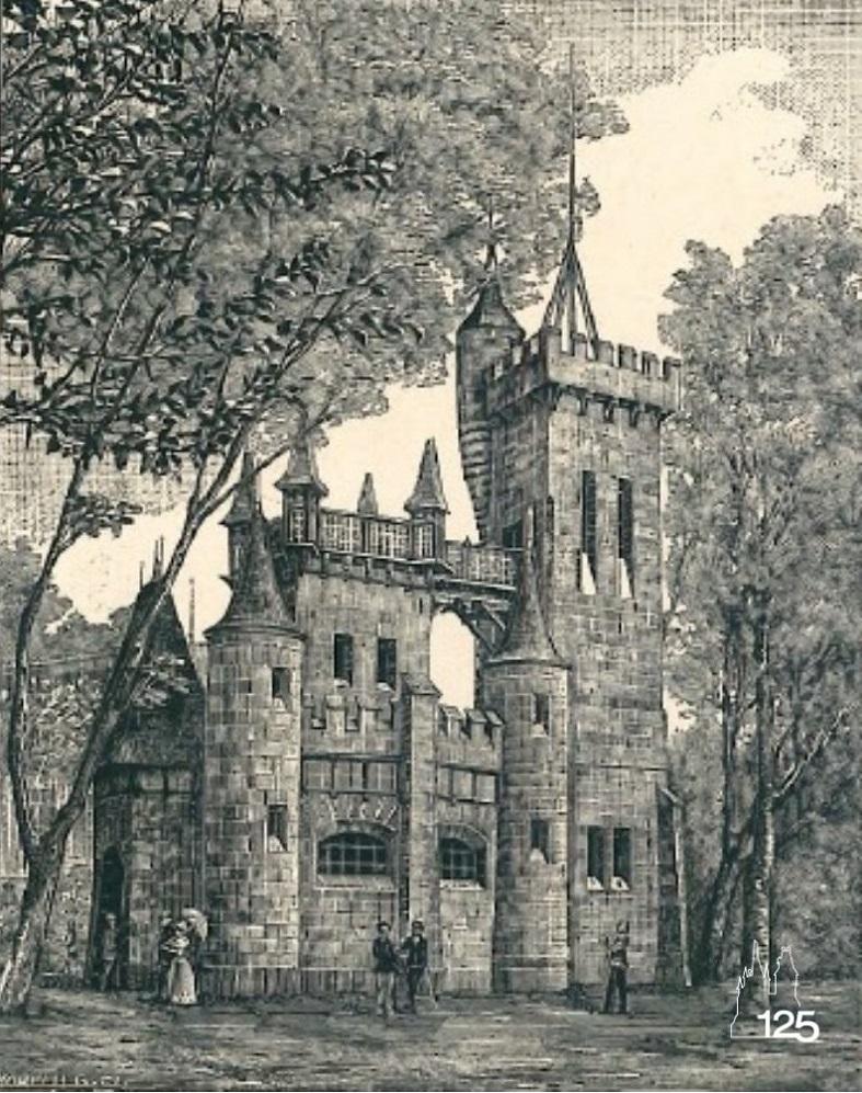 Meteorológiai pavilon (Képek az 1896. Ezredéves Országos Kiállításról I. füzet, MMGM Könyvtár)