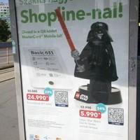 Újdonság! QR-kódos vásárlás a Shopline plakátjaival