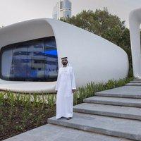 Nyomtatott házzal reklámoznak Dubajban