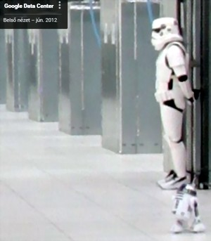 google adatközpont őrzése