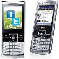 LG S310: Karcsú mobil fémburkolattal