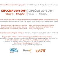 DIPLOMA 2010-2011 - Visart-Modart közös kiállítás