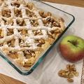 Rácsos almás dióval