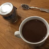 Levendulás forró csoki