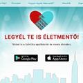Életeket ment a magyar App!