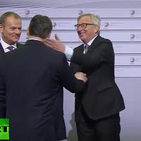 Juncker-pofon: nem jó ötlet!