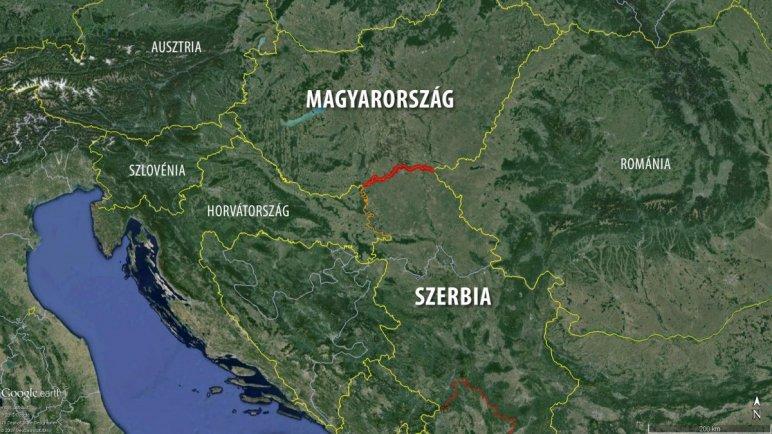 szerb magyar határ térkép Egyszer majd lebontjuk a szégyen kerítését,   Modern Magyarország