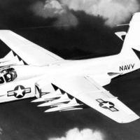 A flotta rakétás védővadásza, az F6D Missileer
