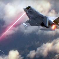 Lézerfegyverrel felszerelt harci repülőgép egy lehetséges koncepciója