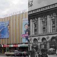 Egy újabb nagyon izgalmas épülettel lesz kevesebb a város – lebontják a Corvin Áruház homlokzatát :(