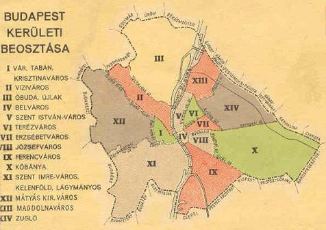 budapest térkép kerületek nevei Kerülethatározó   Modorosblog budapest térkép kerületek nevei