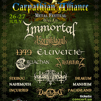 Carpathian Alliance metal fesztivál