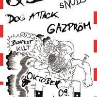 Cudi Purci koncertek a KVLT-ban: QSS, tHE sNOBS, Gazpröm, Dog Attack@2014.10.09.