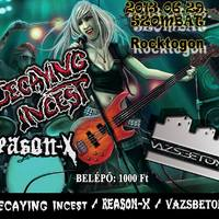 Decaying Incest, Reason-X, Vazsbeton@2013.06.29., Rocktogon, Bp.