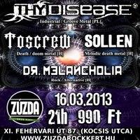 Frozen Plague Tour@Zúzda Rock Kert, 2013.03.16.