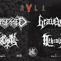 Corpsessed (FIN), Graveyard (ESP), Lie In Ruins (FIN), Nekrológ@2019.10.10 - KVLT, Budapest