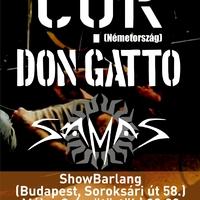 COR (DE), Don Gatto, Samas@2013.05.09., Showbarlang